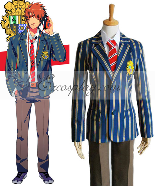 Uta no Prince-sama Saotome Male School Uniform Cosplay Costume