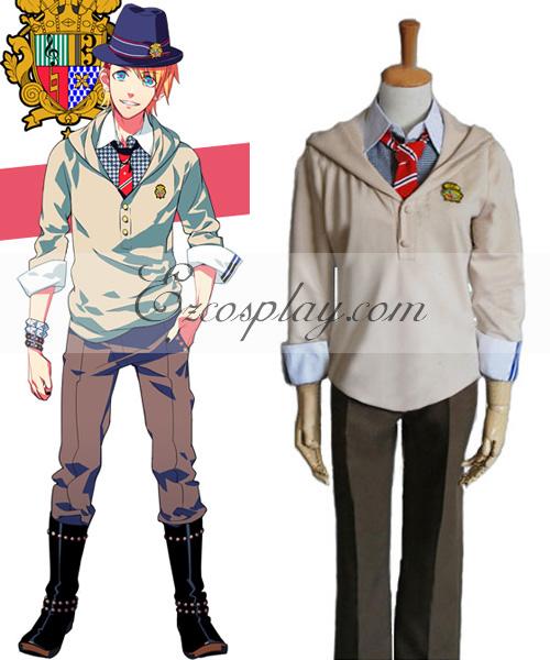 Uta no Prince-sama Syo Kurusu Uniform Cosplay Costume