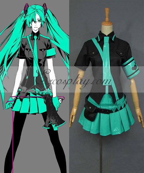 Vocaloid 2 Love is war Miku Cosplay Costume