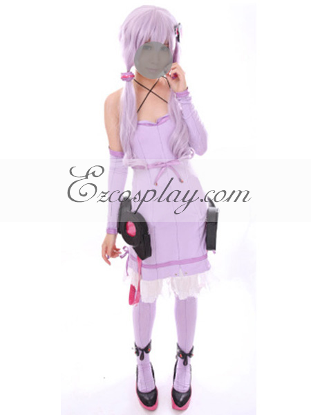 Image of Vocaloid 3 Yuzuki Yukari Cosplay Costume(Without Coat)