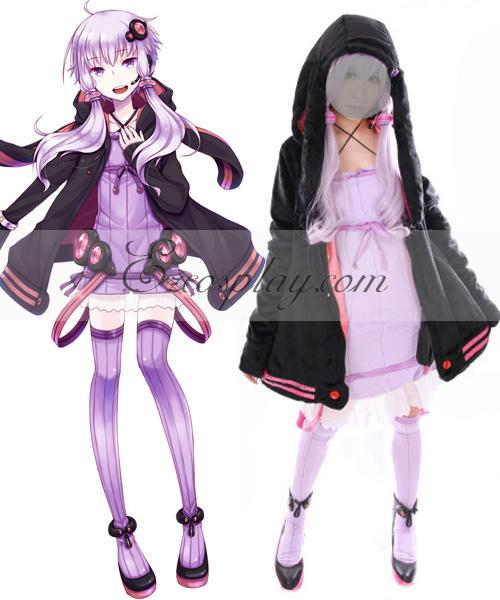 Image of Vocaloid 3 Yuzuki Yukari Cosplay Costume