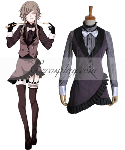 Vocaloid Deadline Circus Gumi Cosplay Costume