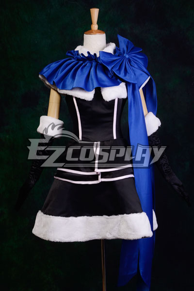 Vocaloid Female Version Kaito Cosplay Costume