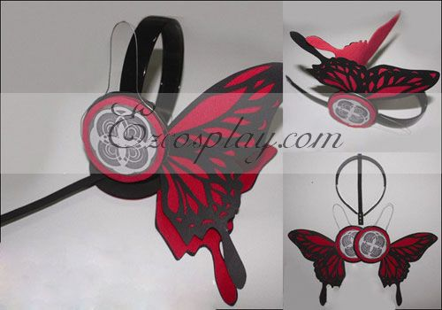 Vocaloid Kaito Copslay Red Prop Headset
