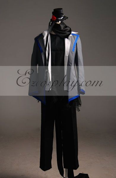 Vocaloid kaito Cosplay Costume-Advanced Custom - A Edition
