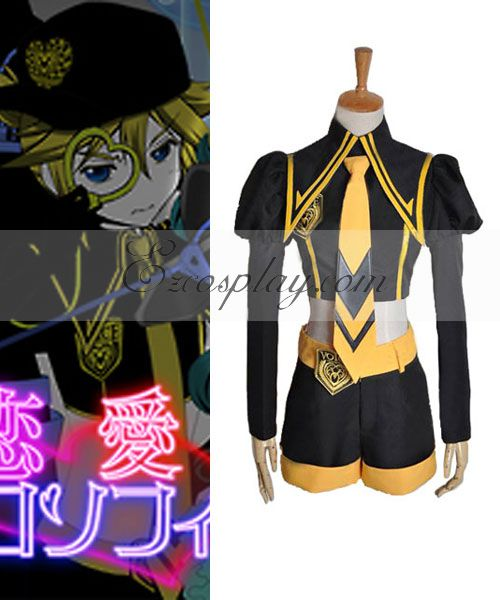 VOCALOID Love Philosophia Len Cosplay Costume