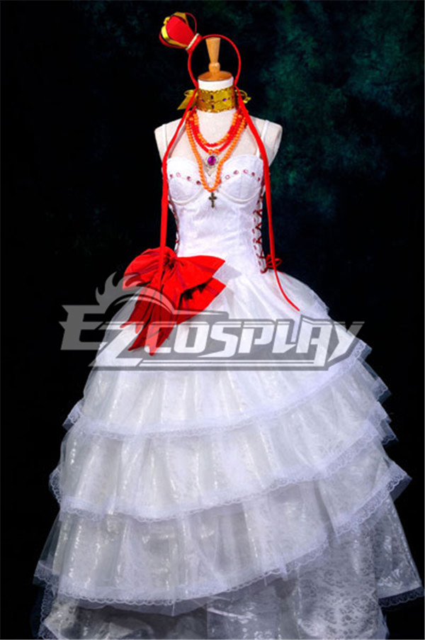 Anime Costumes ZBC0201 Vocaloid  Luka Cosplay Fantasia Lolita Cosplay Costume-Y320