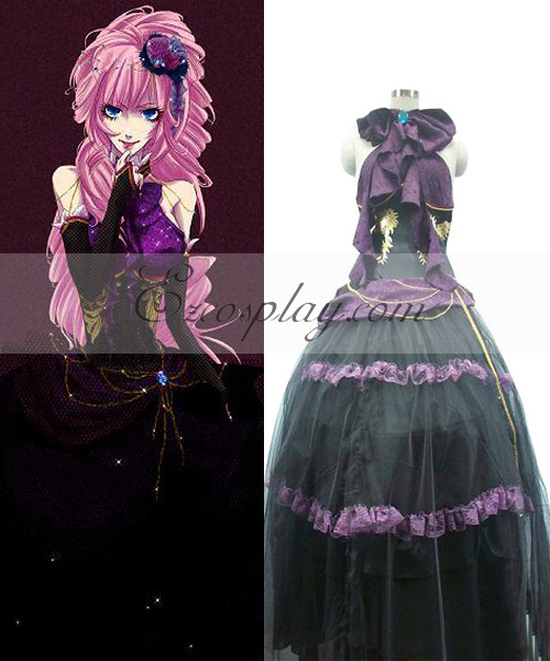 Anime Costumes EVO0015 Vocaloid Sandplay Singing of The Dragon Luka Cosplay Costume