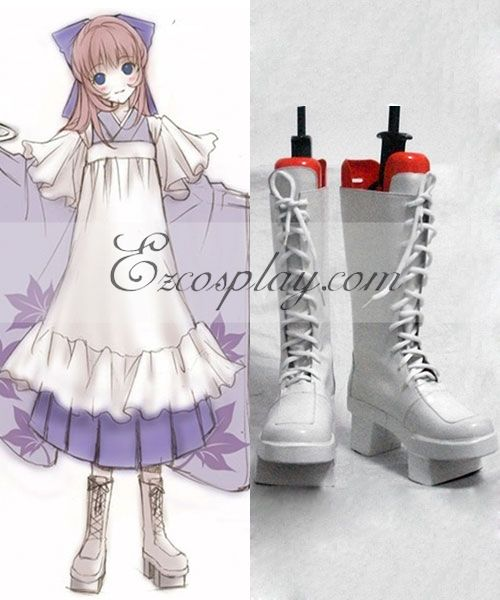 Anime Costumes COSS0004 Vocaloid Megurine Luka Cosplay Shoes