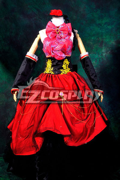 Anime Costumes ZBC0157 Vocaloid Sandplay Singing of The Dragon Luka Cosplay Costume Deluxe Version