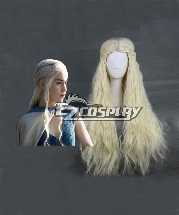 Game of Thrones Daenerys Targaryen Cosplay Wig-357A