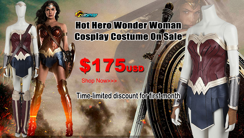 Wonder Women Costumes on Sale