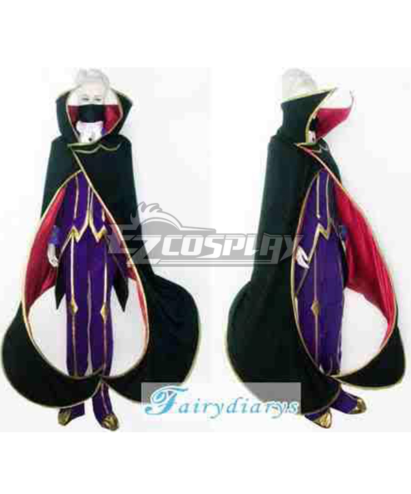 Image of Code Geass Zero Cosplay Costume