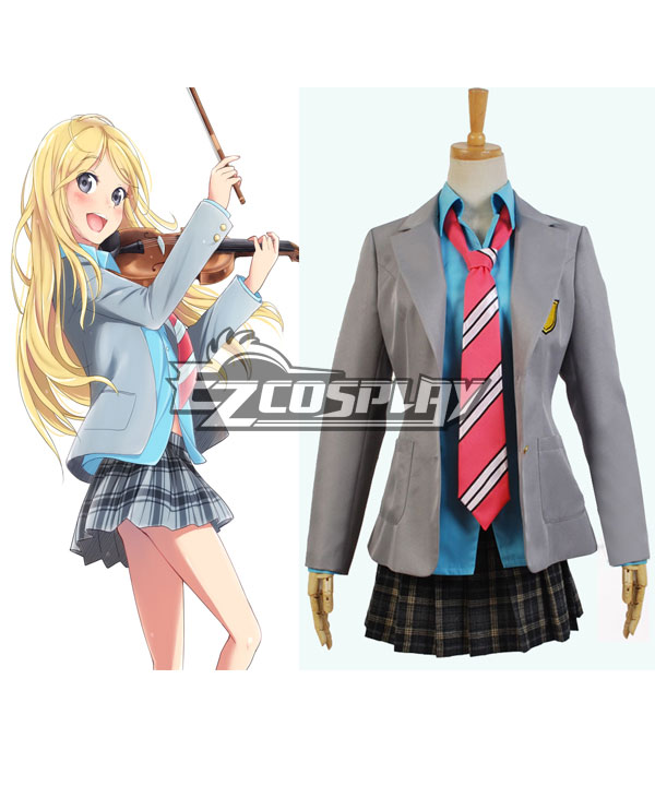 Your Lie in April Kaori Miyazono Cosplay Costume None