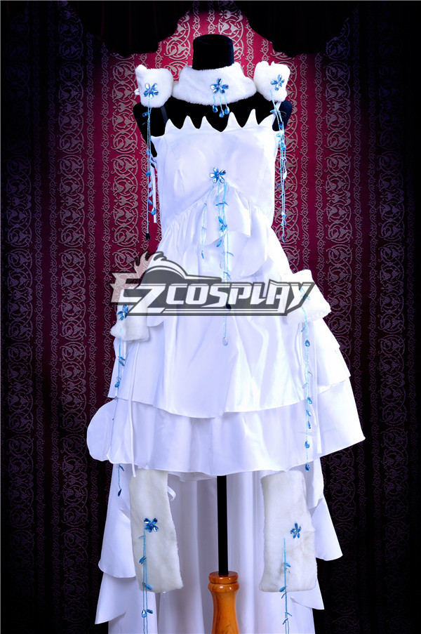 Chobits Chii Formal Dress Cosplay Costume Deluxe Version-Y191