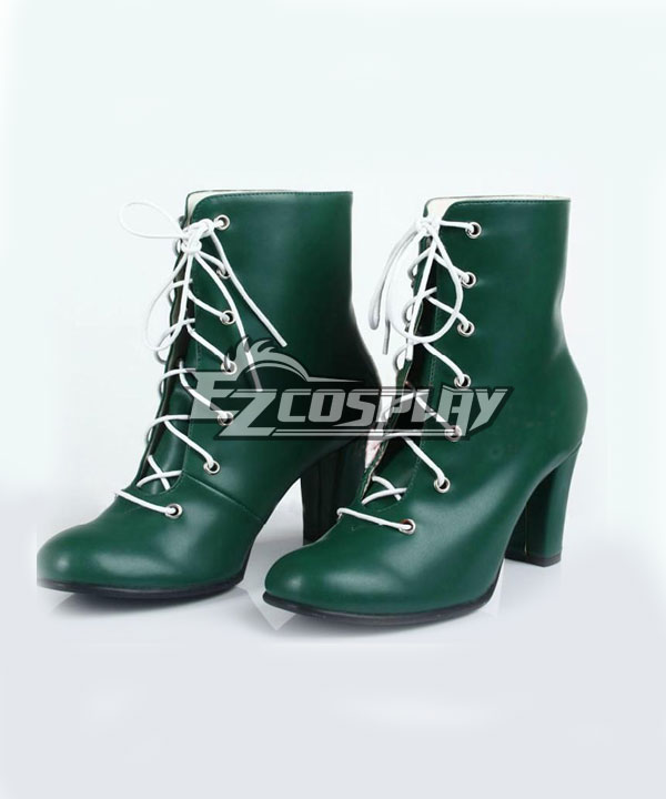 Sailor Moon Kino Makoto Sailor Jupiter Green Cosplay Shoes None