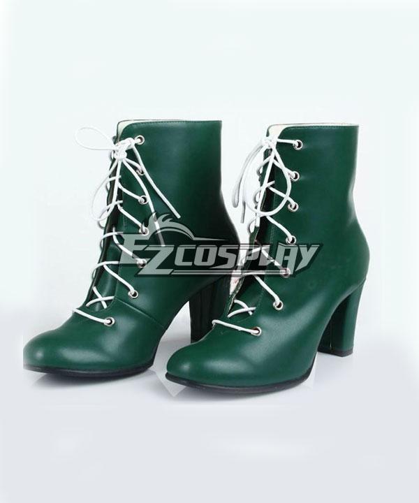 Sailor Moon Kino Makoto Sailor Jupiter Green Cosplay Shoes ESM0021