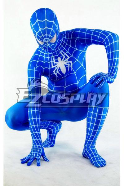 Marvel Spiderman Blue Cosplay Costume EZT0005
