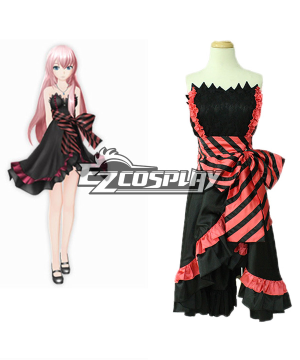 Anime Costumes ZBC0042 VOCALOID Project Diva F Luka Amour Cosplay Costume Deluxe-KH1S