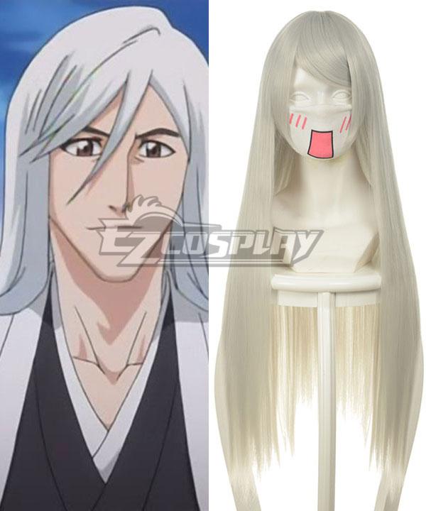 Bleach Ukitake Jushiro White Cosplay Wig-036P