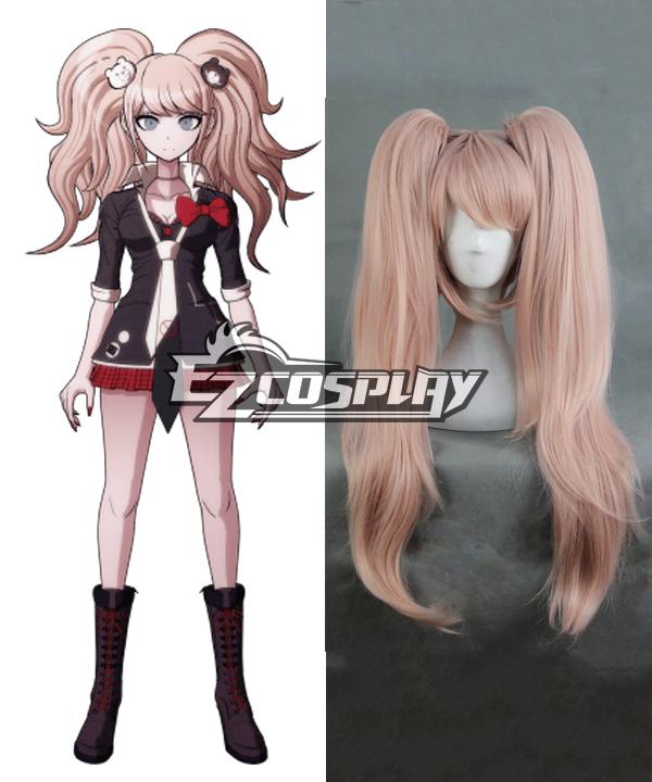 Image of Dangan Ronpa Junko Enoshima PinkBrown Cosplay Wig325A
