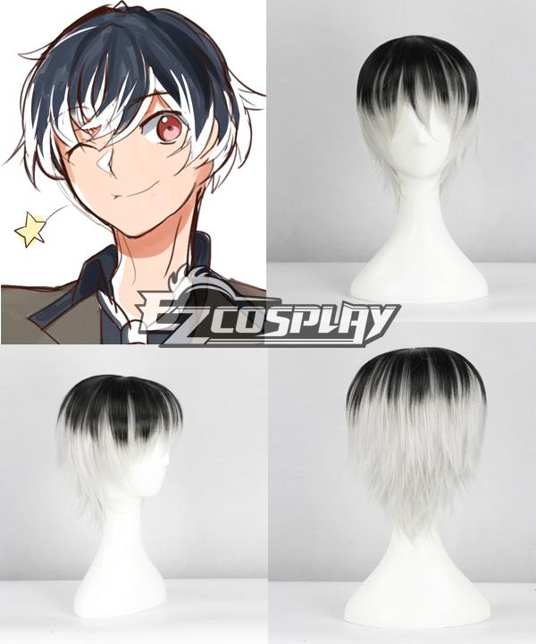 Tokyo Ghouls Kaneki Ken Cosplay Wig-346E None