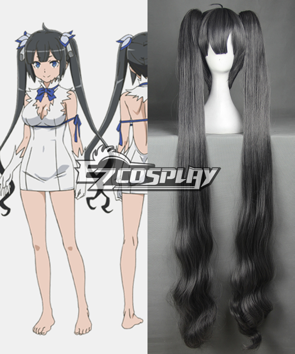 DanMachi Is It Wrong to Try to Pick Up Girls in a Dungeon? Hestia Cosplay Wig- 368A