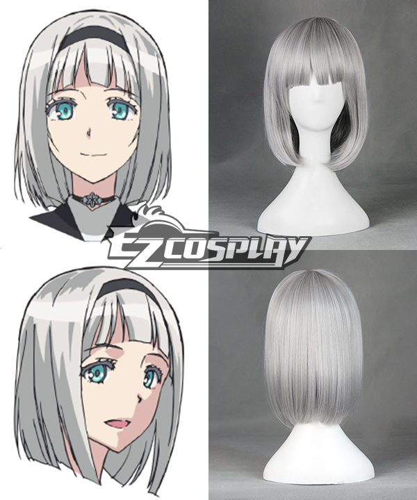 Shimoneta: A Boring World Where the Concept of Dirty Jokes Doesn't Exist Anna Nishikinomiya Cosplay Wig - 387B