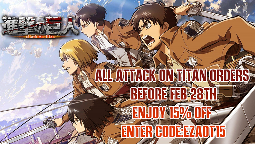 Attack on titan sales