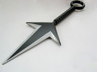 Naruto Cosplay Items on Naruto Cosplay Accessories Yondaime Hokage Kunai Knife